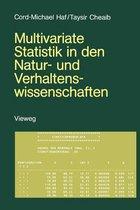 Multivariate Statistik in den Natur- und Verhaltenswissenschaften