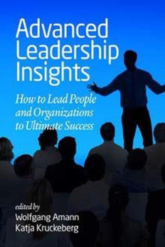 Boek cover Advanced Leadership Insights van  (Paperback)