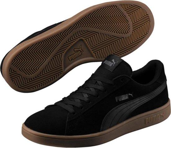 PUMA Smash v2 Sneakers Unisex - Puma Black-Puma Black
