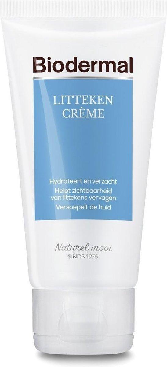 Biodermal Littekencrème - Vermindert zichtbaarheid van littekens - Litteken crème tube 75ml