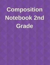 Composition Notebook 2nd Grade