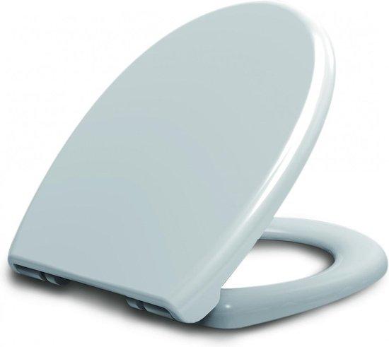 Toiletbril Menilla Softclose en Quickrelease Toiletzitting 42,7x35x4,2cm Wit