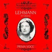 Lotte Lehmann In Opera Vol.1