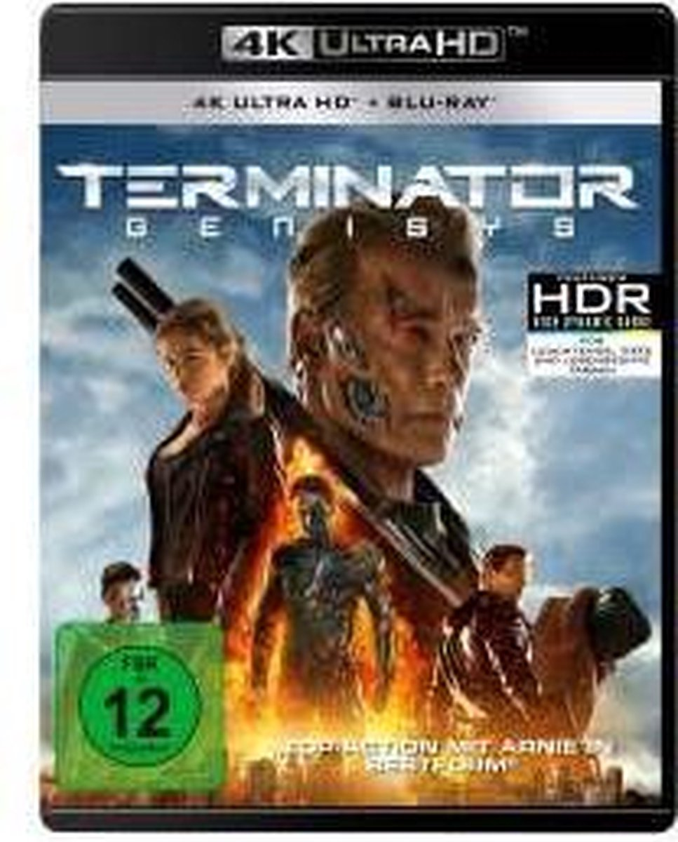 Terminator: Genisys (Ultra HD Blu-ray & Blu-ray)-