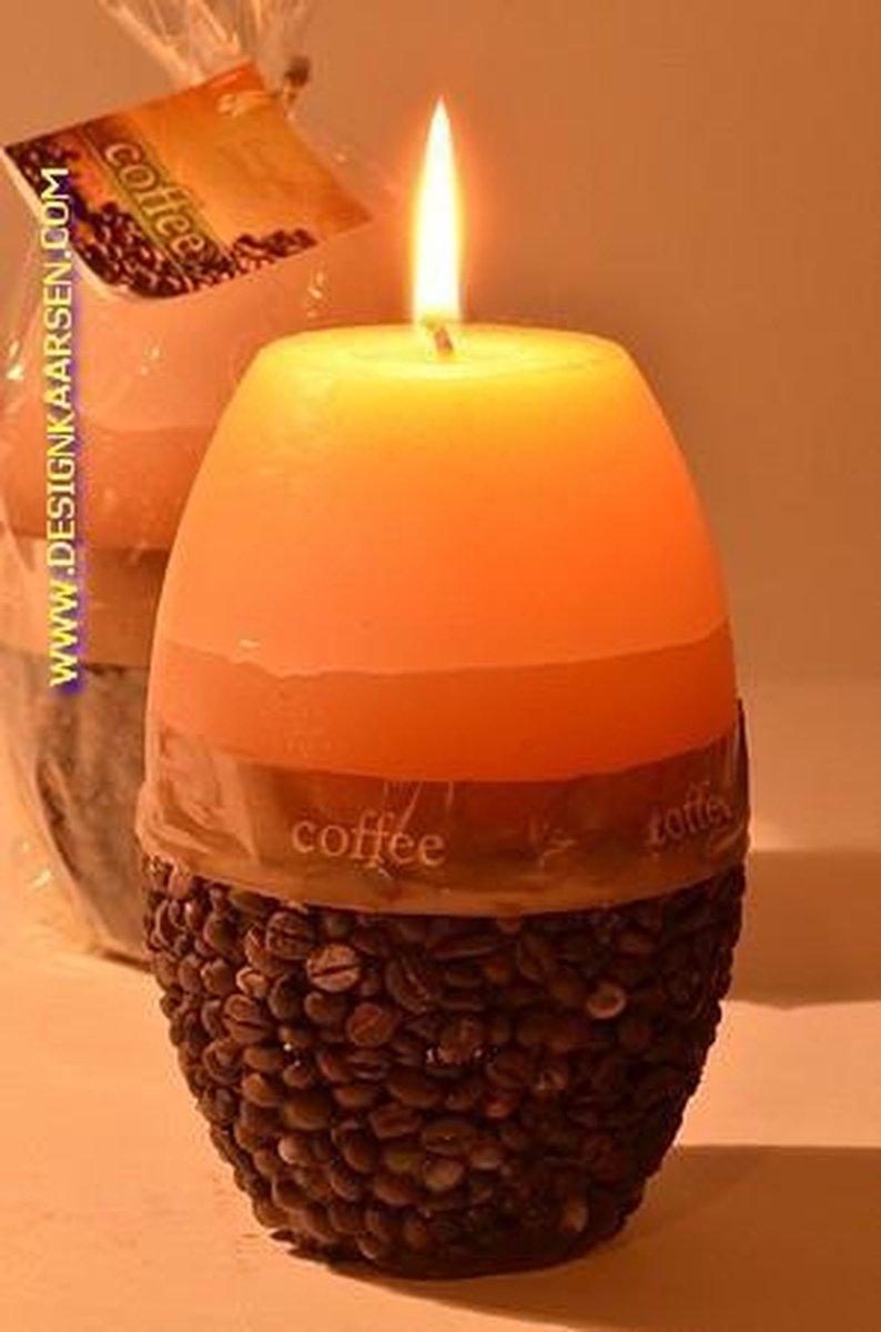 Koffiekaars Boonvormig Groot - Candles by Milanne