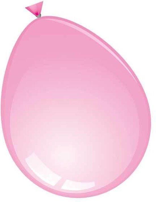 ballon 24 inch 60 cm rose 10 stuks