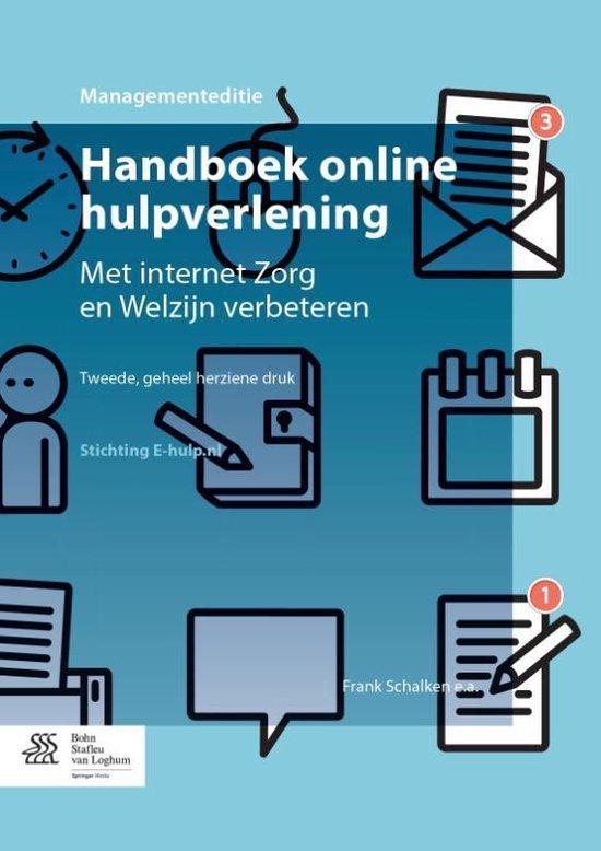 Handboek online hulpverlening (managementeditie) met internet zorg en welzijn verbeteren
