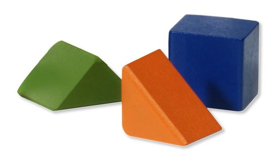 Nijntje Blokkenton met 50 houten blokjes