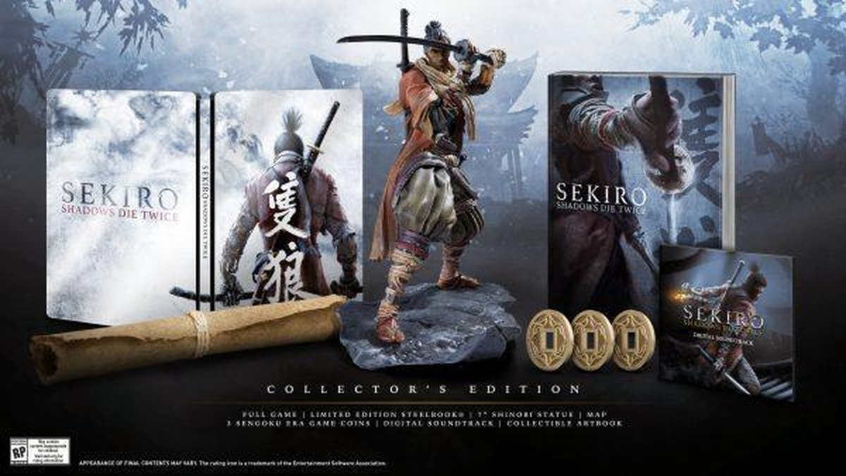 Sekiro: Shadows Die Twice -  Collector's Edition - Xbox One - Activision