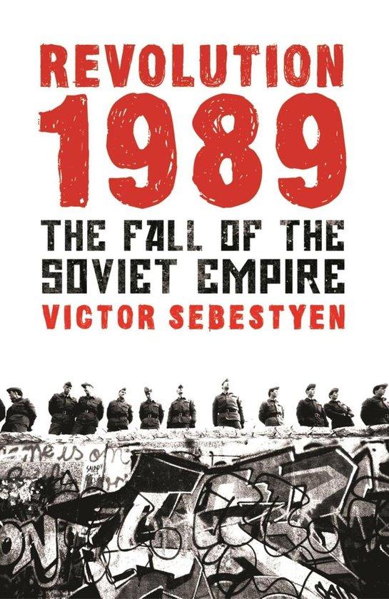 Boek cover Revolution 1989 van Victor Sebestyen (Onbekend)
