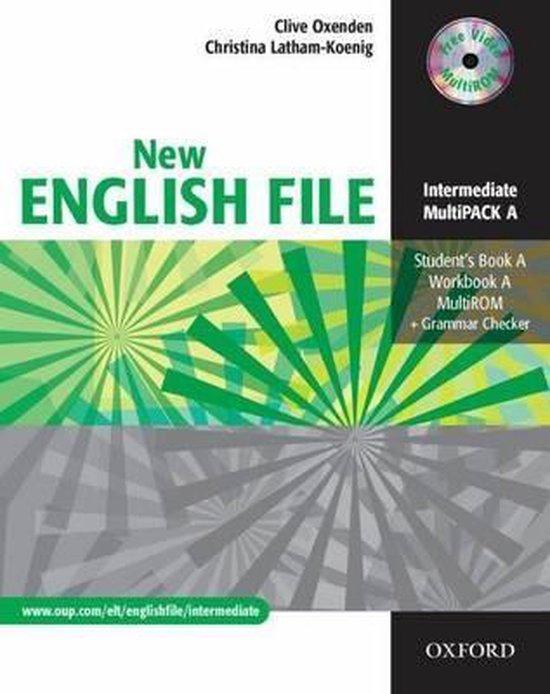 Boek cover New English File van Clive Oxenden (Onbekend)