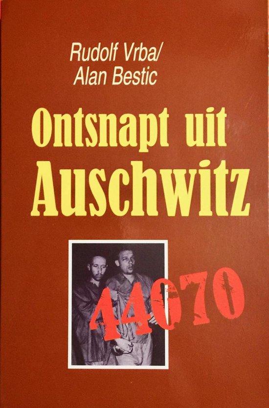 Boek cover Ontsnapt uit auschwitz van Rudolf Vrba (Paperback)