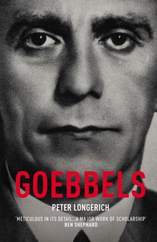 Boek cover Goebbels van Peter Longerich (Onbekend)