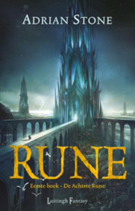 Cover van het boek 'Rune 1 - De Achtste Rune'