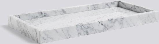Hay dienblad Large in Carrara marmer