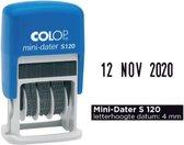 Datumstempel Colop Mini Dater 4mm S120