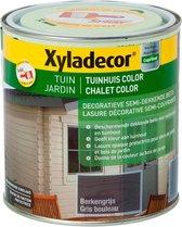 Xyladecor Tuinhuis Color - Houtbeits - Berkengrijs - Mat - 1L