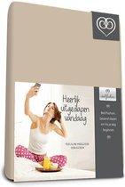 Bed-Fashion katoenen hoeslaken Zand - 80 x 200 cm - Zand