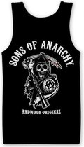 Sons Of Anarchy tanktop heren M