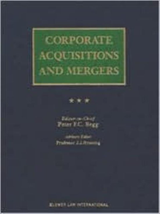 Corporate Acquisitions and Mergers