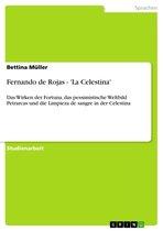 Fernando de Rojas - 'La Celestina': Das Wirken der Fortuna, das pessimistische Weltbild Petrarcas und die Limpieza de sangre in der Celestina
