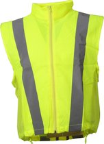 Joggy Safe Veiligheidsbodywarmer Unisex Geel Maat L