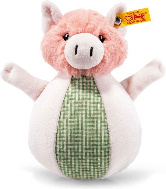 Afbeelding van het spel Steiff Happy Farm Piggilee muziek sta op varken 19 cm. EAN 240966