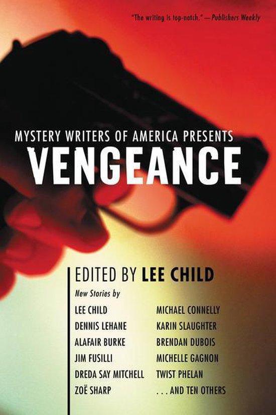 Omslag van Mystery Writers of America Presents Vengeance