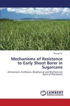 Mechanisms of Resistance to Early Shoot Borer in Sugarcane