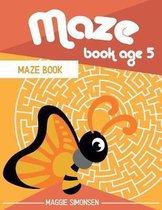 Maze Book Age 5