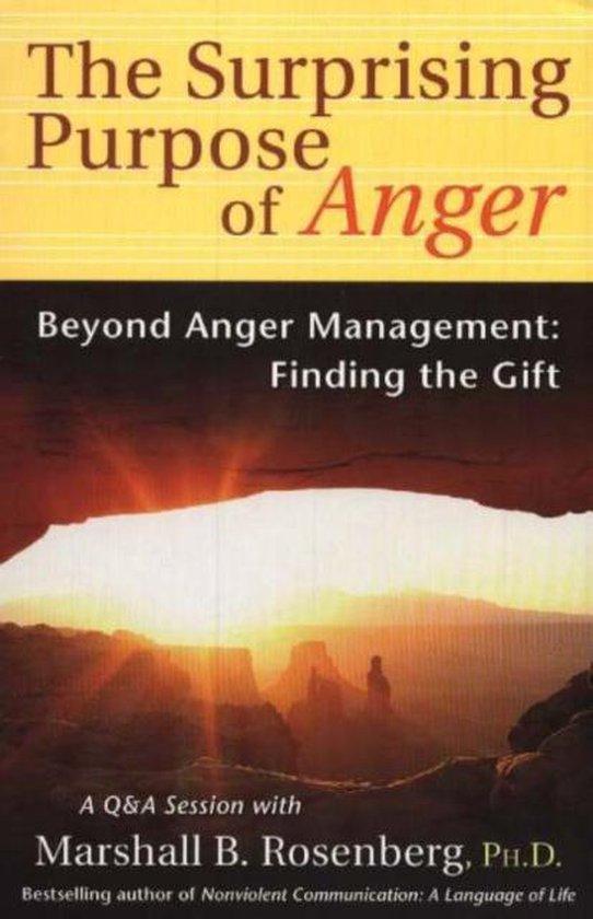 Boek cover Surprising Purpose of Anger van Marshall B. Rosenberg (Paperback)