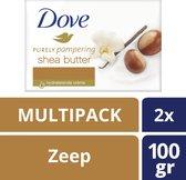 Dove Bar Shea Butter - 12 x 2 stuks  - Voordeelverpakking