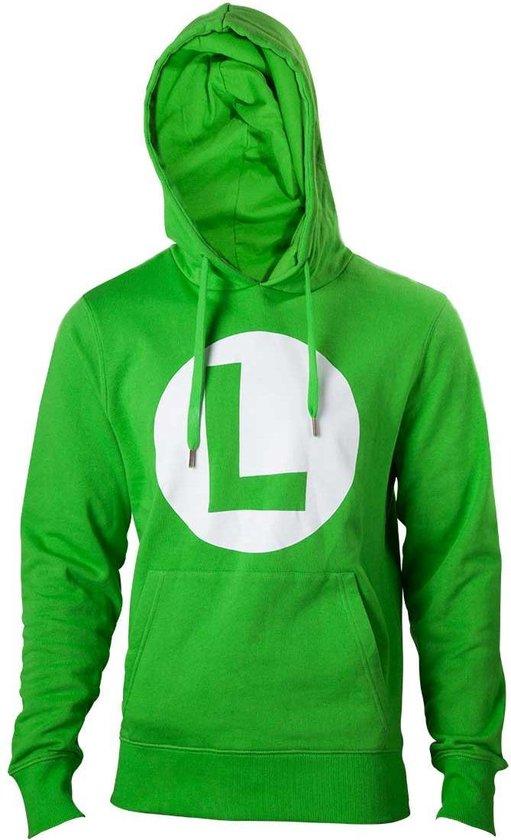 NINTENDO - Sweatshirt Luigi Logo (M)