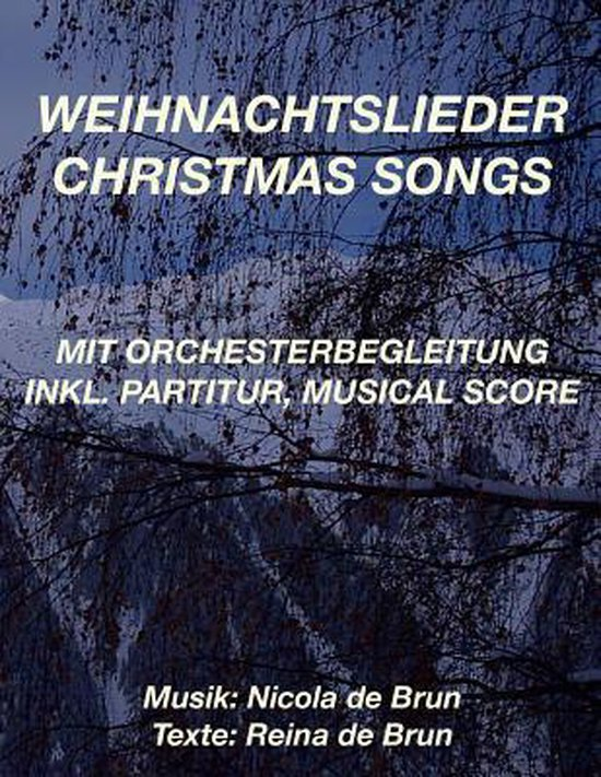 Weihnachtslieder - Christmas Songs: mit Orchesterbegleitung. inkl. Partitur, Musical Score