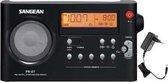 Sangean pack PR-D7 - Draagbare Radio - Zwart