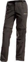 Regatta Xert Stretch Z/O II lange broek Heren Short grijs DE / (Korte maat)