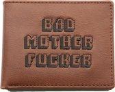 United Entertainment - Originele Bad Mother Fucker Portemonnee - Met Muntvakje en Rijbewijs Card - Bruin