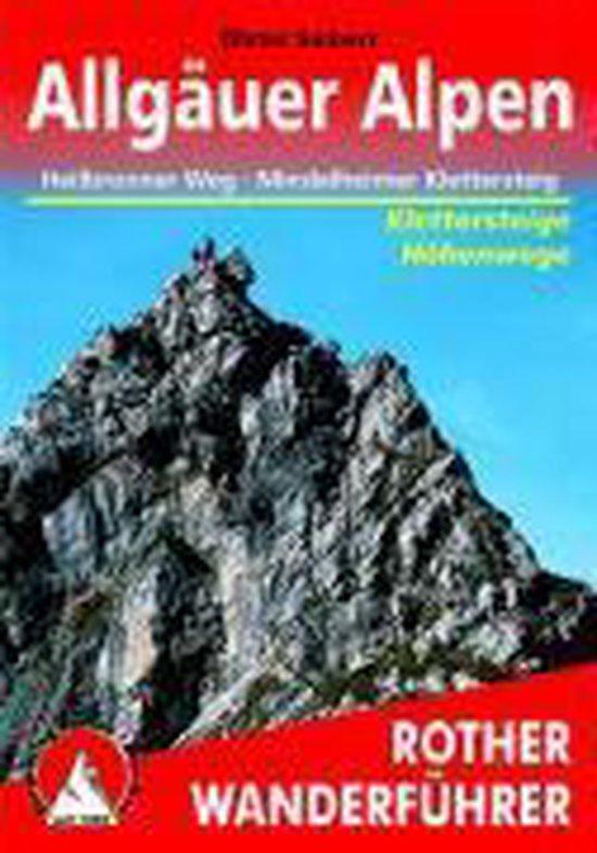 Cover van het boek 'Allgauer Alpen Heilbronner Weg Mindelheimer Klettersteig'