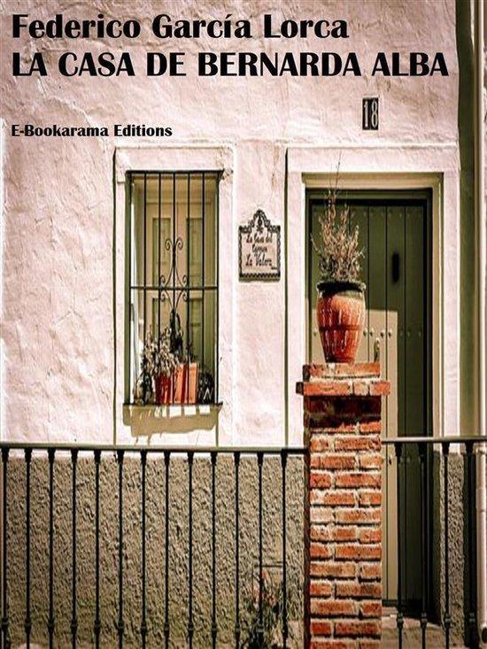 Boek cover La casa de Bernarda Alba van Federico GarciA Lorca (Onbekend)
