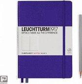 Leuchtturm1917 Notitieboek Paars - Medium - Puntjes