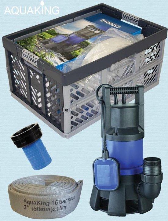 AquaKing Waterpomp AquaKing set wateroverlast