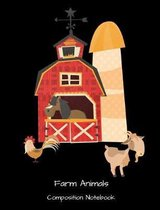 Farm Animals Composition Notebook