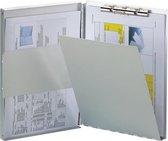 LPC Formulierenhouder klemmap - aluminium - A4 - Zijopening