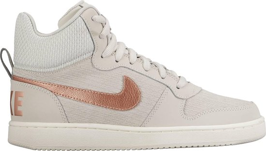 Nike Court Borough Mid Prem - Sportschoenen - Dames - Light Bone/Mtlc Red  Bronze-Sail - Maat 41