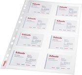 Leitz Premium Showtas voor Visitekaartjes - PP - A4 - 10 stuks - Transparant
