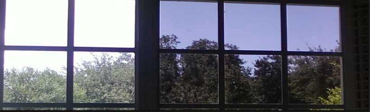 Zonwerende Krasvaste Raamfolie - 75x600 cm - Zwart - Zelfklevend