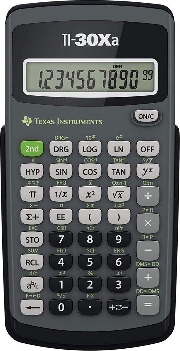 Texas Instruments TI-30XA - Texas Instruments