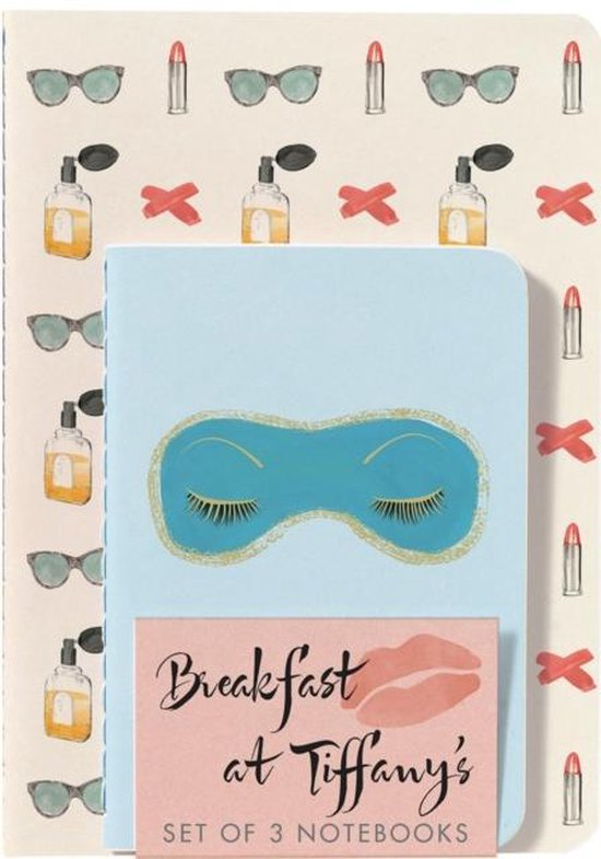 Breakfast at Tiffany's Notebooks (Set of 3)