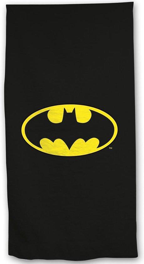 Batman Logo - Strandlaken - 70 x 140 cm - Zwart