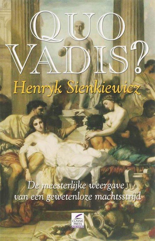 Quo Vadis? - Henryk Sienkiewicz |